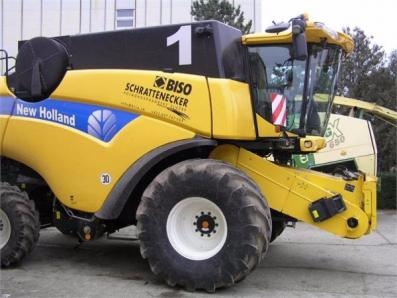 Harvester New Holland CX8080 - BISO Schrattenecker - Foto 2
