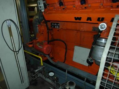 Used Gas cogeneration system / Combined Heat and Power (CHP), Engine: Waukesha L7042G / Leroy Somer LS AK 50 VL10 6-P - Foto 16