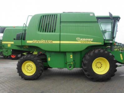 Combine harvester John Deere 9580 WTS 4wd, used, Emsbueren - Foto 5