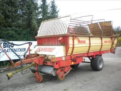 Loading wagons Krone Turbo 3200 - BISO Schrattenecker - Foto 1