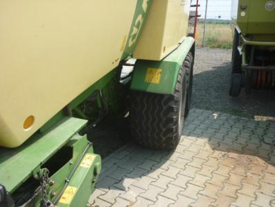 Baler Krone Comprima CV 150 XC, used, Emsbueren - Foto 3