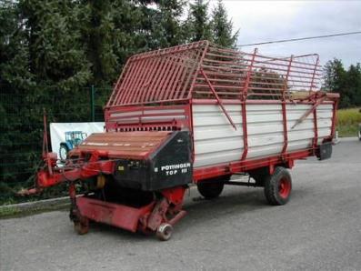 Loading wagons Pöttinger TOP III / LW27 - BISO Schrattenecker - Foto 1