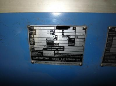 Used Condensing steam turbine Siemens AFA 6 Da / Leroy Somer LSA 56 BL7-4P, 1997 - Foto 20