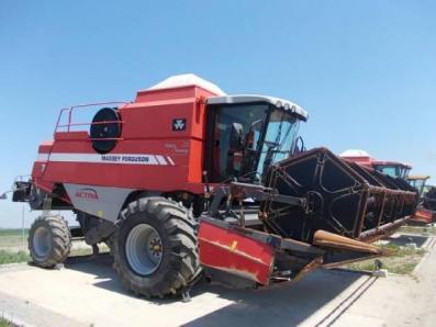 Harvester Massey Ferguson 7245 - BISO Schrattenecker - Foto 4