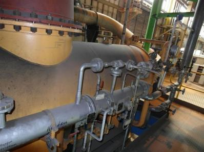 Used Condensing steam turbine Siemens AFA 6 Da / Leroy Somer LSA 56 BL7-4P, 1997 - Foto 5