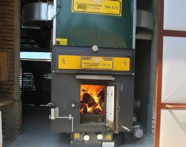 Mini drying unit SVP-150. For heating, wood is used - Foto 3