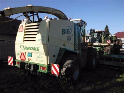 Forage harvesters Krone X V8 - BISO Schrattenecker - Foto 5
