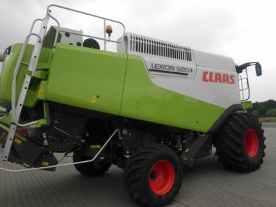 Combine harvester CLAAS Lexion 580, used, Emsbueren - Foto 3