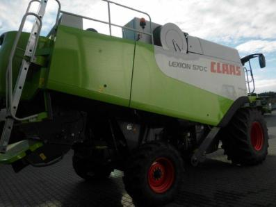 Combine harvester CLAAS Lexion 570 C, used, Emsbueren - Foto 3
