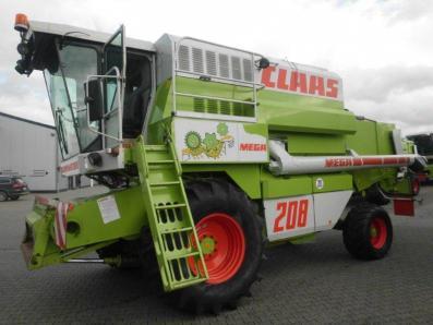 Combine harvester CLAAS Dominator 208 Mega, used, Emsbueren - Foto 2