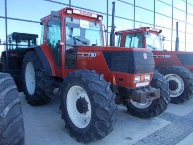 Tractor Fiat Fiatagri F110 - BISO Schrattenecker - Foto 1