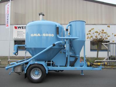 Feed mill plant trailer, mobile, new, milling / mixing system GMA 4000 - Foto 1