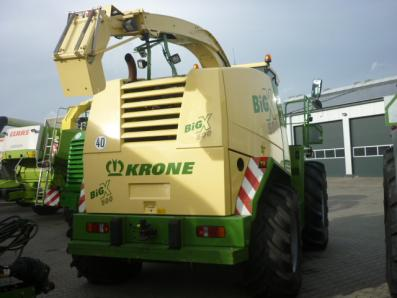 Self-propelled forage harvester Krone Big X 500, used, 2010 Emsbueren - Foto 3
