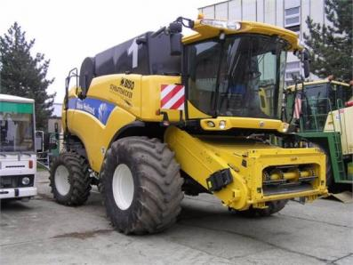 Harvester New Holland CX8080 - BISO Schrattenecker - Foto 4
