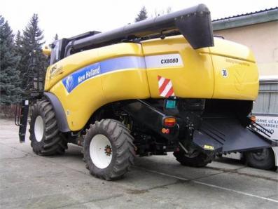 Harvester New Holland CX8080 - BISO Schrattenecker - Foto 6