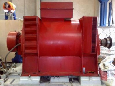 Used Generator AVK DIDBN 150 / 145 L/4 / - Foto 14