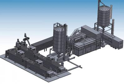 MOPS - modular granulation system. drying, granulator, heater - Foto 1