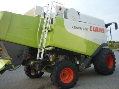 Combine harvester CLAAS Lexion 530, used, Emsbueren - Foto 3