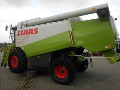Combine harvester CLAAS Lexion 460, used, Emsbueren - Foto 2