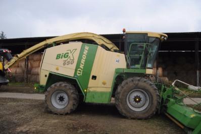 Forage harvesters Krone Big X 560 - BISO Schrattenecker - Foto 15