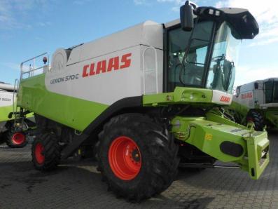 Combine harvester CLAAS Lexion 570 C, used, Emsbueren - Foto 4
