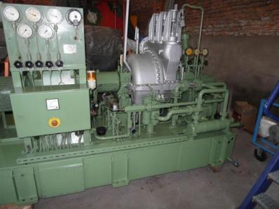 Used Condensing steam turbine Nadrowski, Dresser-Rand B5S-2+G4 / Leroy Somer - Foto 3