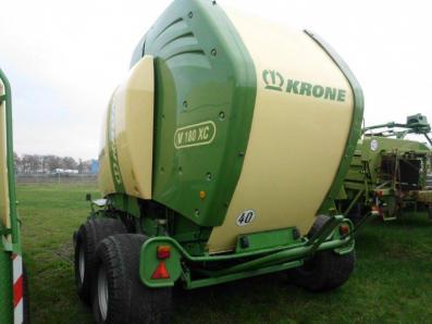 Round baler Krone Comprima V180 XC, used, Emsbueren - Foto 5