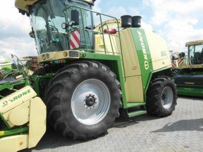 Self-propelled forage harvester Krone Big X 700, used, 2011, Emsbueren - Foto 1