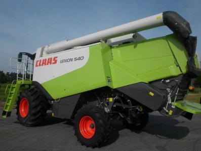 Combine harvester CLAAS Lexion 540, used, Emsbueren - Foto 2