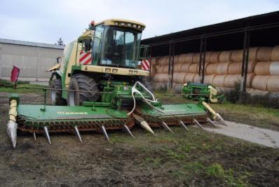 Forage harvesters Krone Big X 560 - BISO Schrattenecker - Foto 14