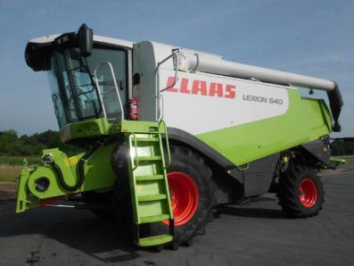 Combine harvester CLAAS Lexion 540, used, Emsbueren - Foto 1