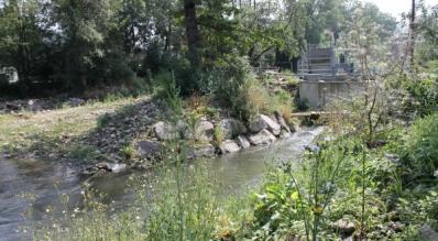 Wasserwirbelkraftwerk - Foto 1