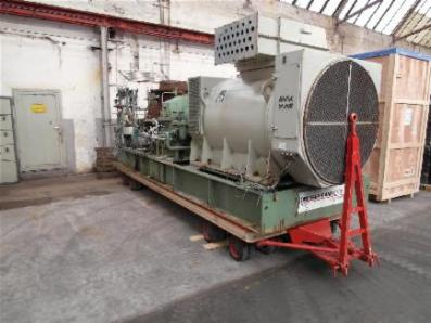 Condensing steam turbine Dresser-Rand GAF-5C - Foto 1
