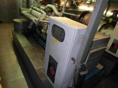 Gas cogeneration system / Combined Heat and Power (CHP), Engine: MDE MAN E 2842 - Foto 1