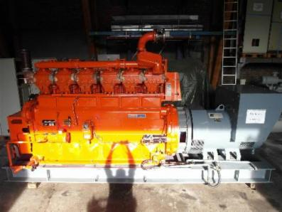 Gas cogeneration system / Combined Heat and Power (CHP), Engine: Waukesha F3521G - Foto 1