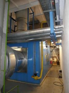 Protective casing of the gas turbine Solar Centaur - Foto 1