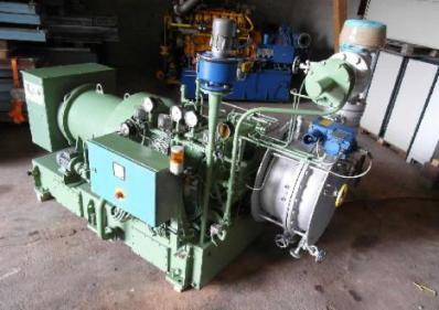 Steam turbine Nadrowski C5S - G4 Curtisrad - Foto 1