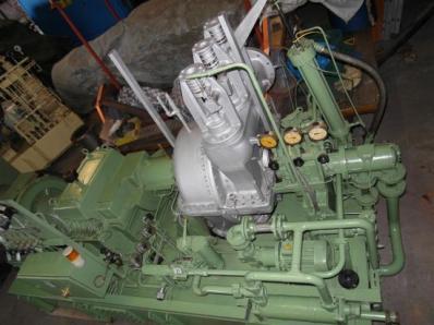 Used Condensing steam turbine Nadrowski, Dresser-Rand B5S-2+G4 / Leroy Somer - Foto 7