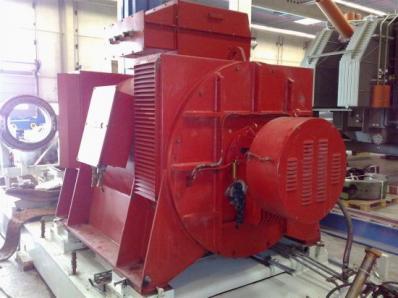 Used Generator AVK DIDBN 150 / 145 L/4 / - Foto 10