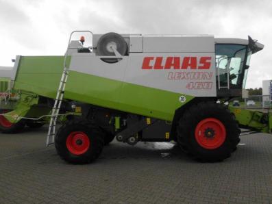 Combine harvester CLAAS Lexion 460, used, Emsbueren - Foto 4