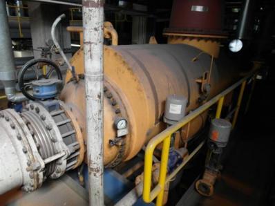 Used Condensing steam turbine Siemens AFA 6 Da / Leroy Somer LSA 56 BL7-4P, 1997 - Foto 14