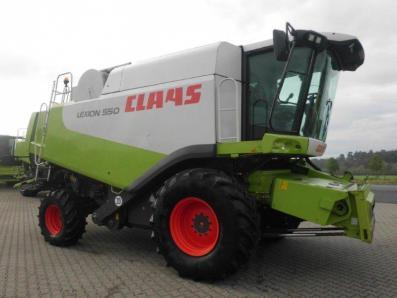 Combine harvester CLAAS Lexion 550, used, Emsbueren - Foto 5