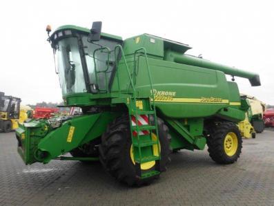 Combine harvester John Deere 9580 WTS 4wd, used, Emsbueren - Foto 3
