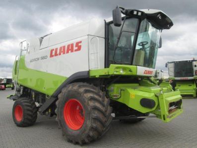 Combine harvester CLAAS Lexion 560, used, Emsbueren - Foto 4