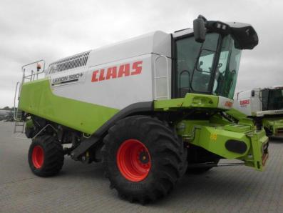 Combine harvester CLAAS Lexion 580, used, Emsbueren - Foto 4