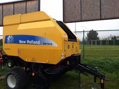 Round balers New Holland BR7070 - BISO Schrattenecker - Foto 4