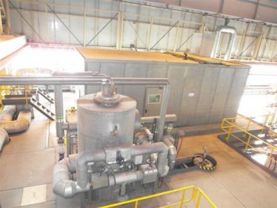 Used Condensing steam turbine Siemens AFA 6 Da / Leroy Somer LSA 56 BL7-4P, 1997 - Foto 15