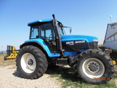 Tractor New Holland 8670 - BISO Schrattenecker - Foto 1