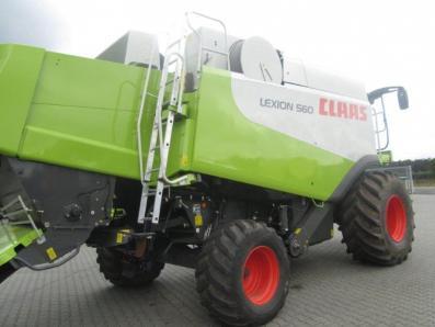 Combine harvester CLAAS Lexion 560, used, Emsbueren - Foto 3