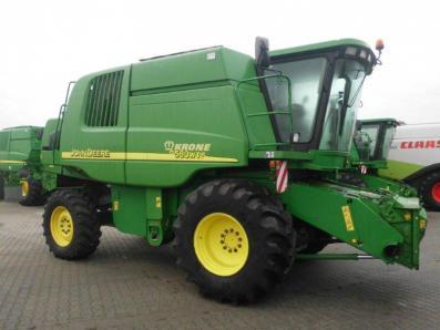 Combine harvester John Deere 9580 WTS 4wd, used, Emsbueren - Foto 1